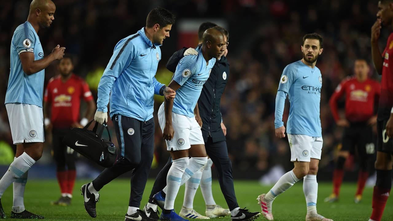 Fernandinho'dan Manchester City'ye kötü haber