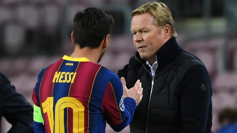 Ronald Koeman'dan Lionel Messi açıklaması