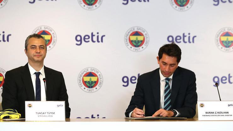 Fenerbahçe ile Getir sponsorluk anlaşması imzaladı