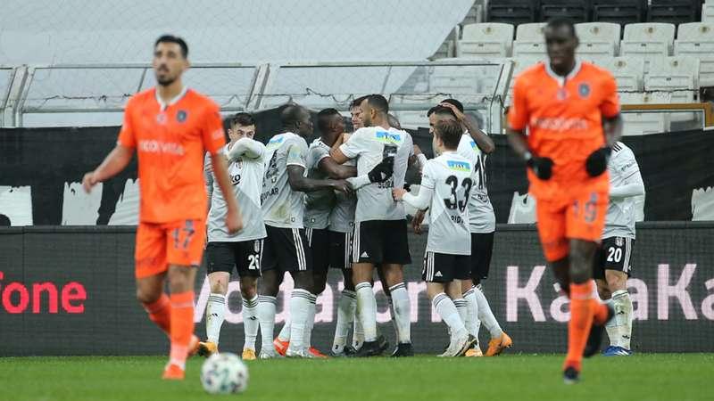 Beşiktaş, belalısı Başakşehir'i devirdi: 3-2