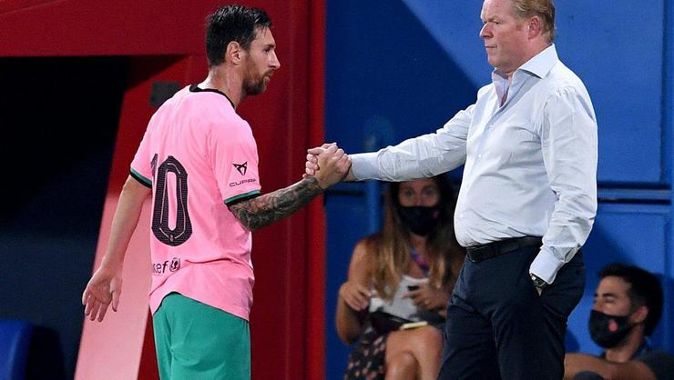 Barcelona'da Messi, kadroya alınmadı