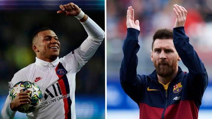 Mbappe, Messi'nin rekorunu kırdı