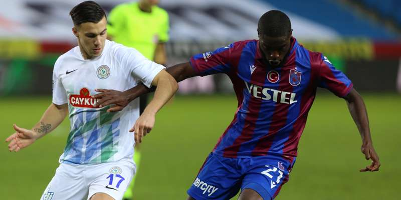 Trabzonspor iki hafta sonra kazandı: 2-1