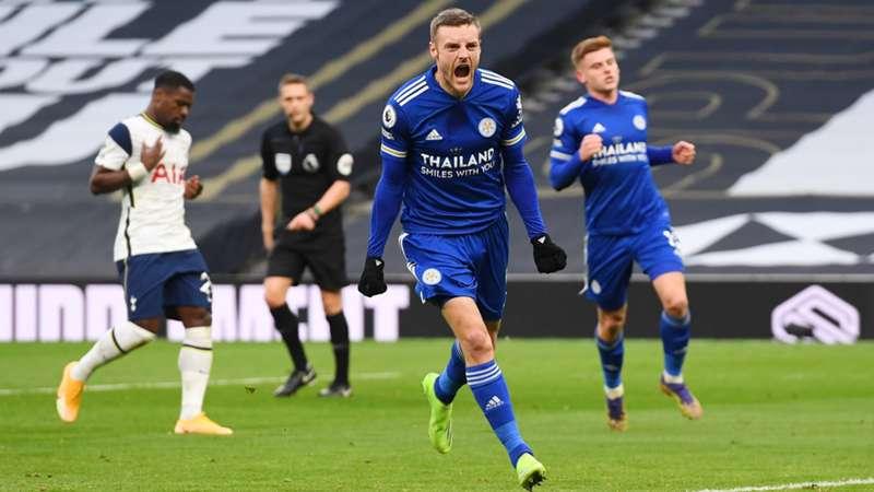 Tottenham'ı yenen Leicester, Premier Lig'in yeni lideri oldu: 0-2
