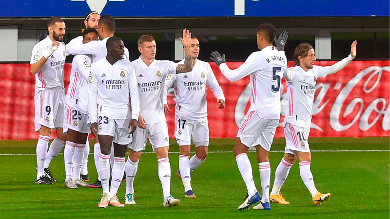 Real Madrid, deplasmanda Eibar'ı yendi: 1-3