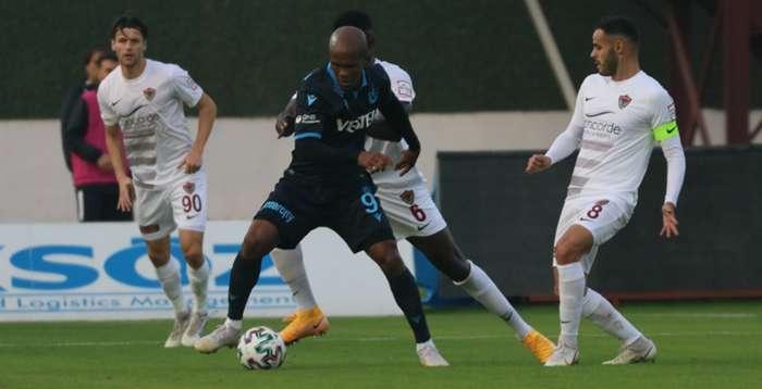 Trabzonspor tek golle kazandı: 0-1