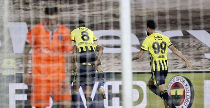 Fenerbahçe dört golle kazandı: 4-1