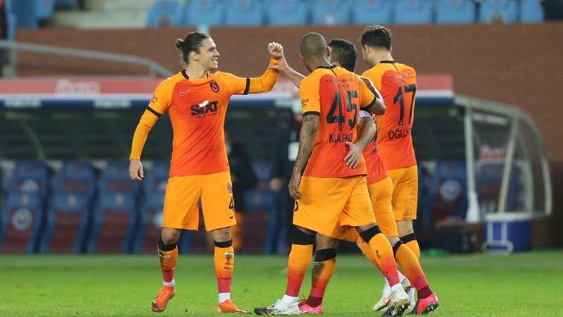 Galatasaray, Trabzon deplasmanından rahat çıktı: 2-0