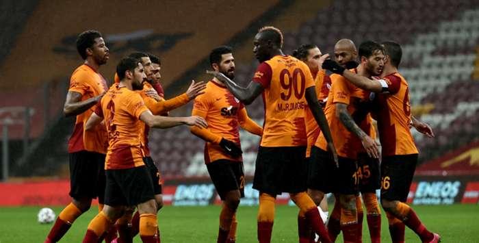 Galatasaray'dan yarım düzine gol: 6-0