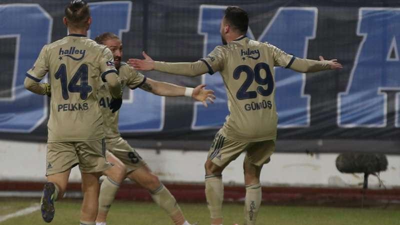 BB Erzurumspor 0-3 Fenerbahçe   Süper Lig'de zirvenin yeni ortağı Fenerbahçe