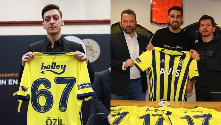 Transfer dönemine Mesut Özil ve İrfan Can Kahveci damga vurdu