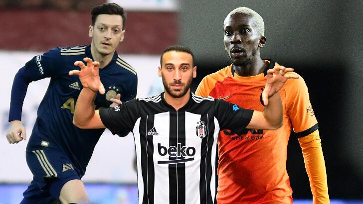 Süper Lig, ara transfer döneminde Avrupa'da rekor kırdı!