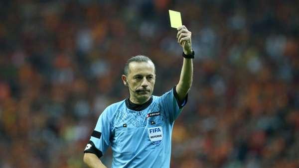 Fenerbahçe-Galatasaray maçının hakemi Cüneyt Çakır