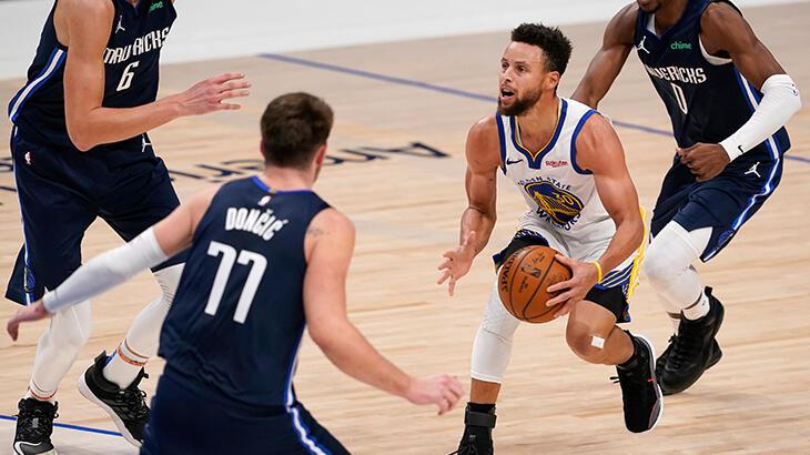 Curry'nin 57 sayısı Warriors'a yetmedi
