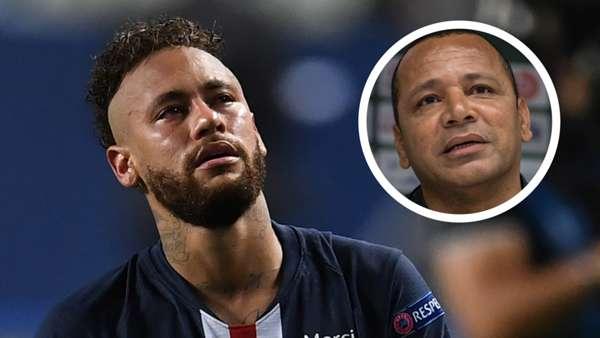 Neymar'ın babasından Pascal Dupraz'a yanıt: Oğlum gerçekten ağlamalı