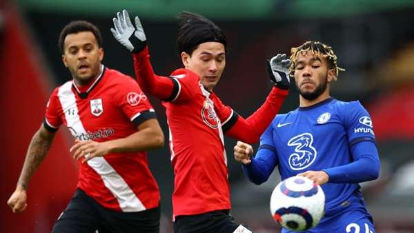 Southampton 1-1 Chelsea: Dört maçtır kazanan Chelsea'ye Southampton freni