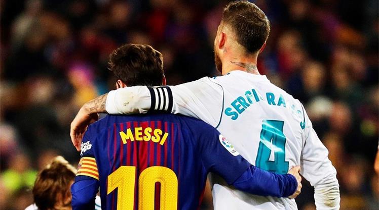 Sergio Ramos'tan Messi itirafı!