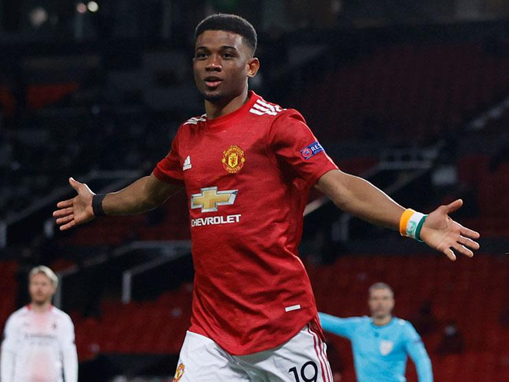 Manchester United'lı Amad Diallo UEFA Avrupa Ligi gecesine damga vurdu!