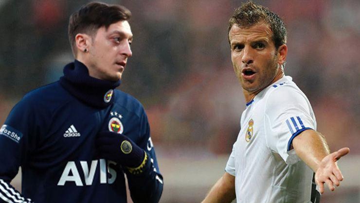 Eski Real Madrid'li van der Vaart'tan Mesut Özil itirafı