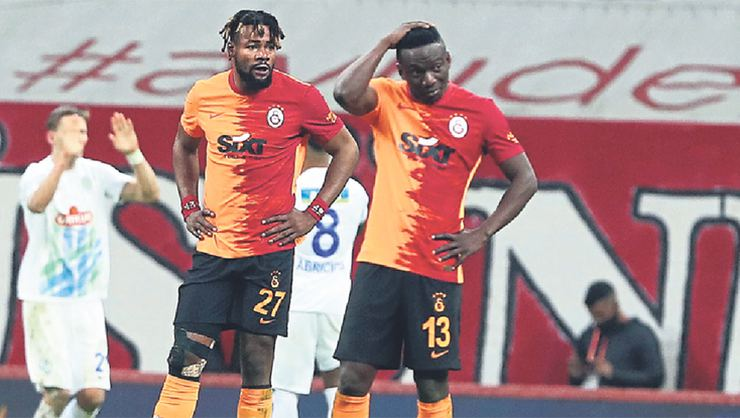 Galatasaray'da stoper kalmadı!