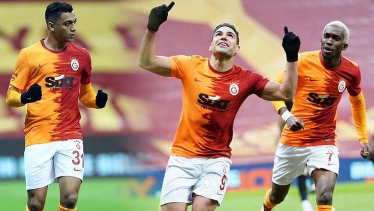 Galatasaray'da Fatih Terim, Radamel Falcao ile Mostafa Mohamed arasında seçim yapacak