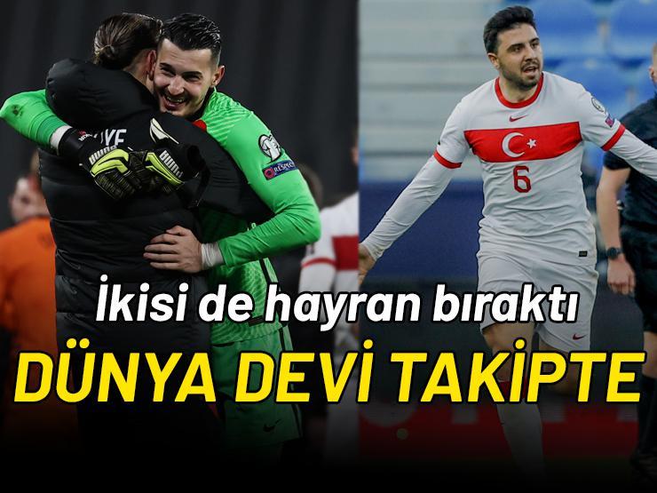 Ozan Tufan ve Uğurcan Çakır'ı Liverpool takip ediyor