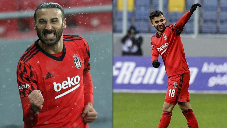 Beşiktaş'ta Ghezzal ve Cenk Tosun Alanyaspor maçıyla dönüyor