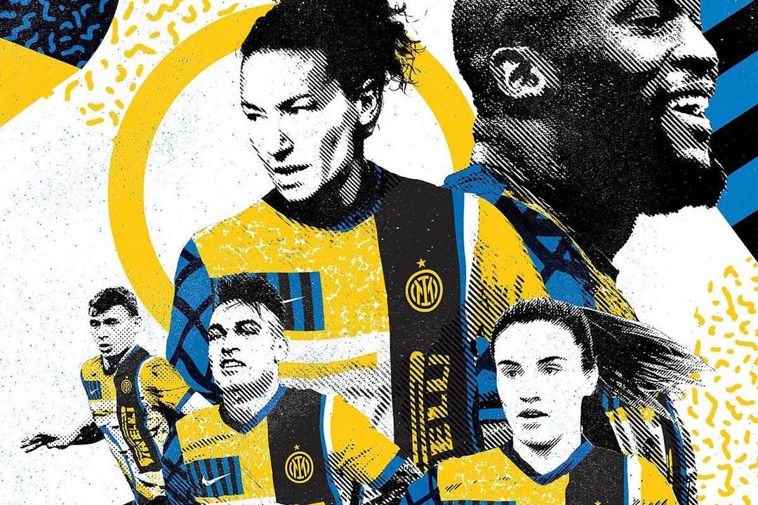 Inter'den yeni logo için özel forma