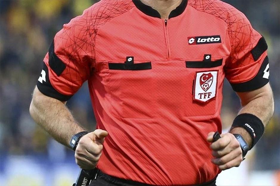 Süper Lig'de 34. haftanın hakemleri belli oldu!