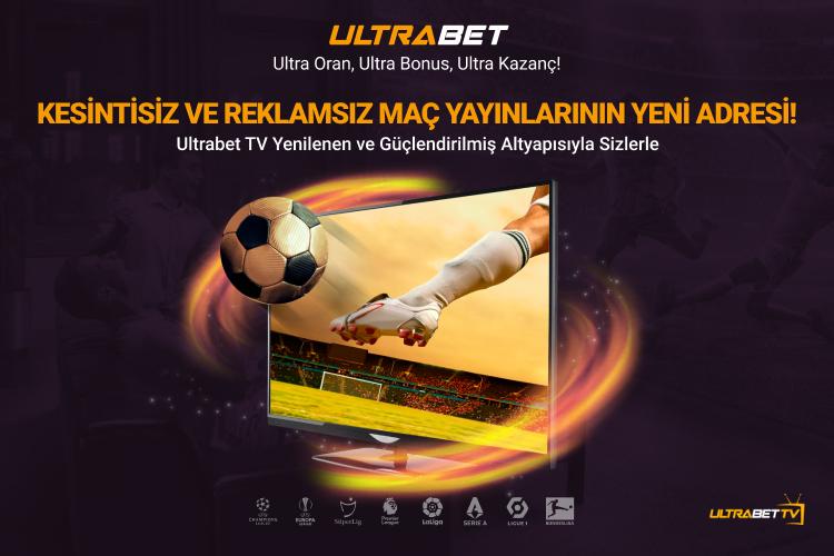 Ultrabet TV Canlı Maç İzle