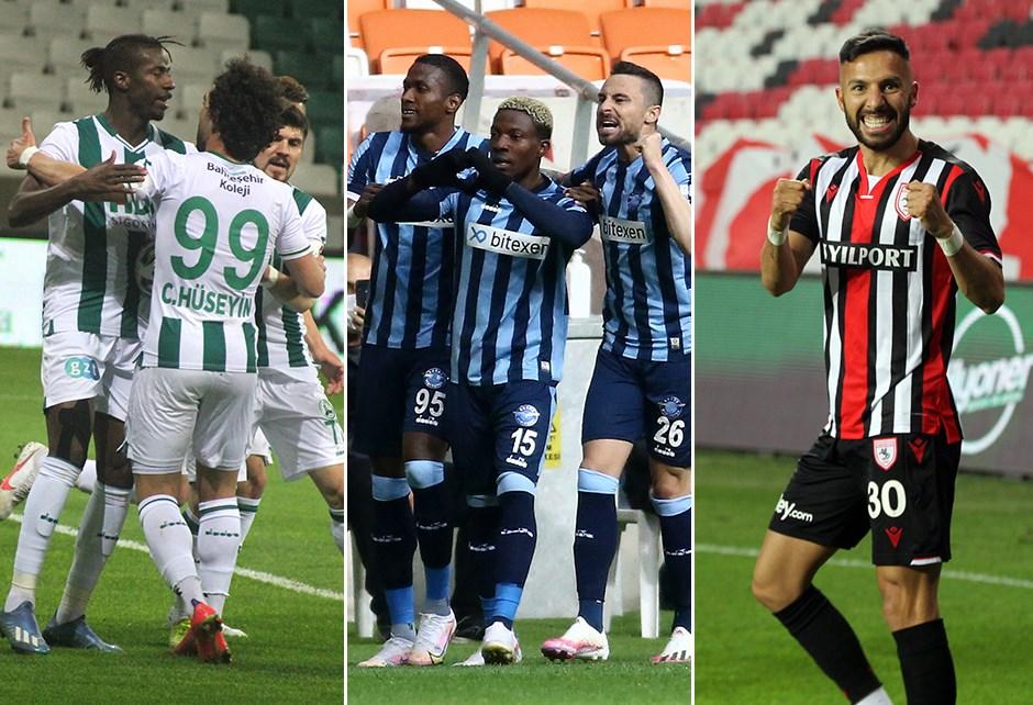 TFF 1. Lig'de Süper Lig yarışı... Giresunspor, Adana Demirspor ve Samsunspor'un kalan maçları