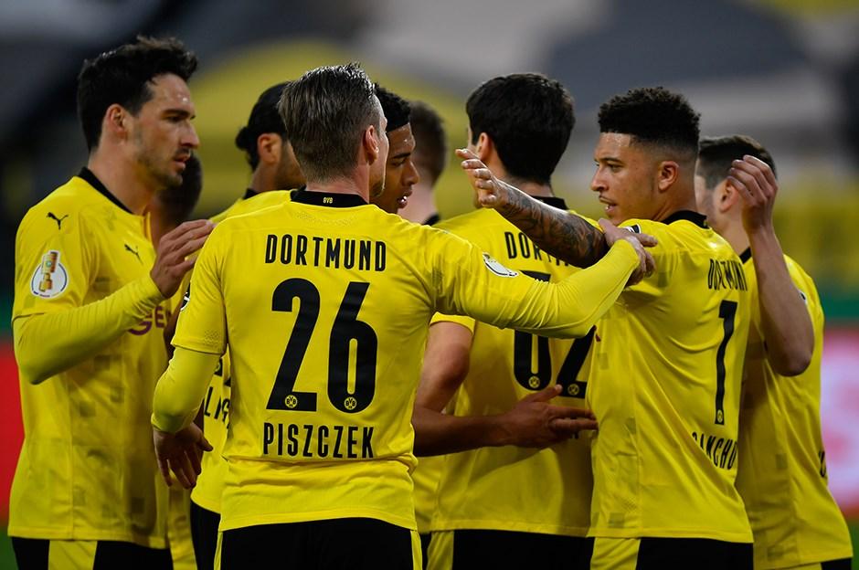 Dortmund 5 golle finale uçtu!
