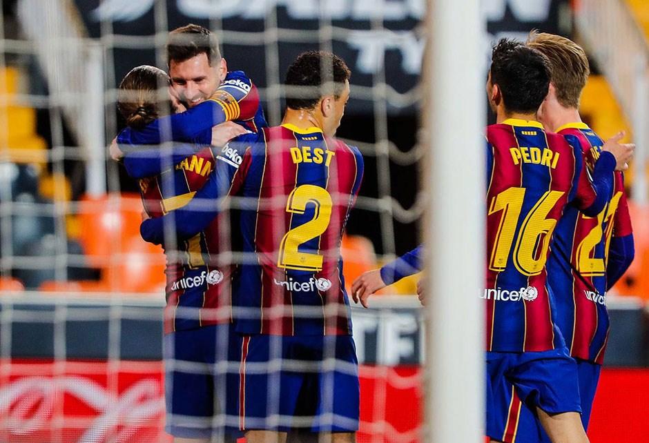Barcelona iddiasını sürdürdü