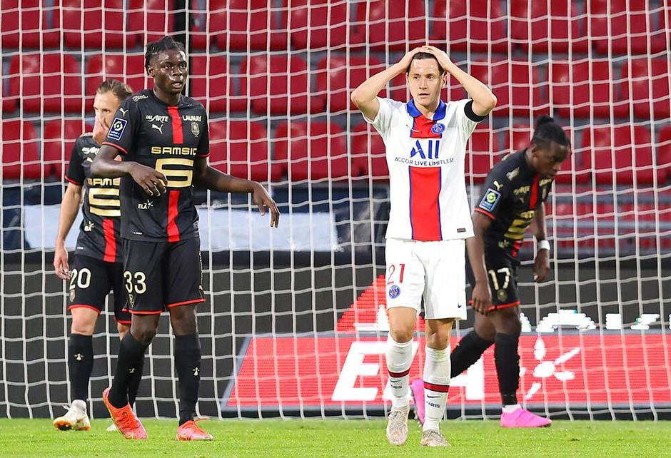 Lille, Paris Saint-Germain ile şampiyonluğa yaklaştı