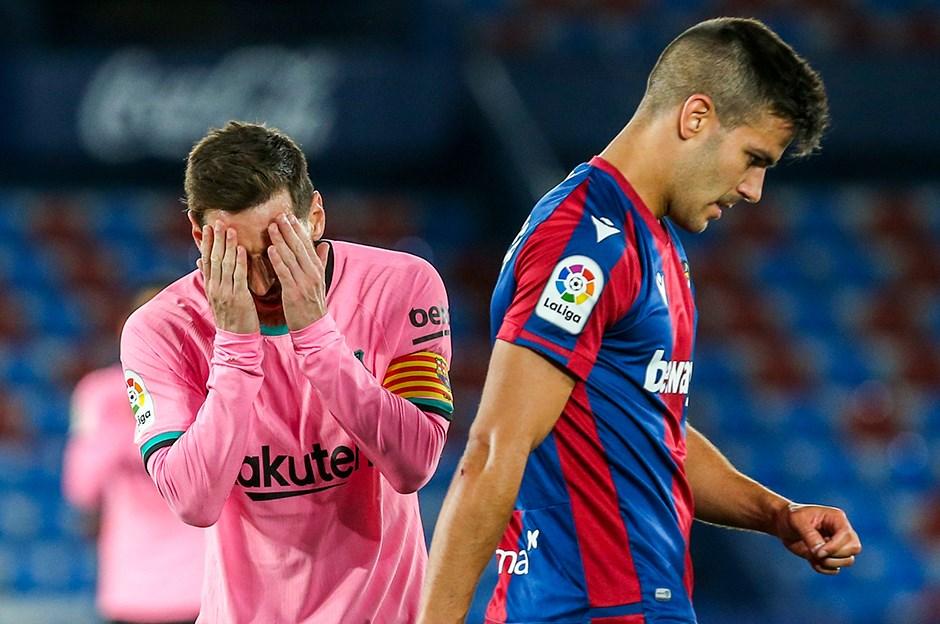 Levante: 3 - Barcelona: 3