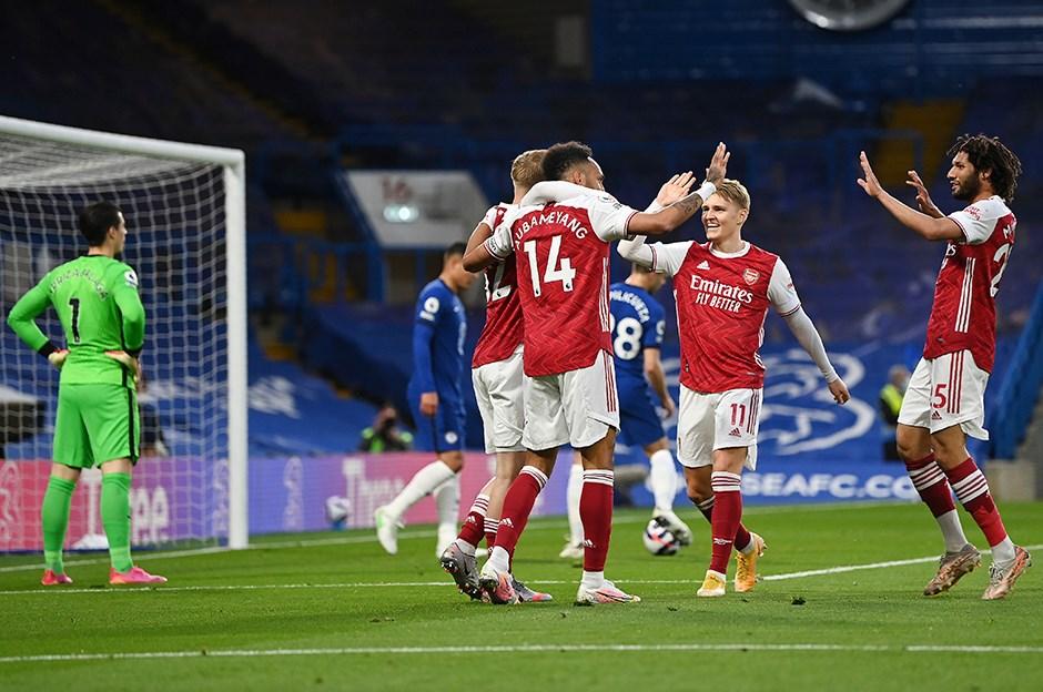 Derbide kazanan Arsenal