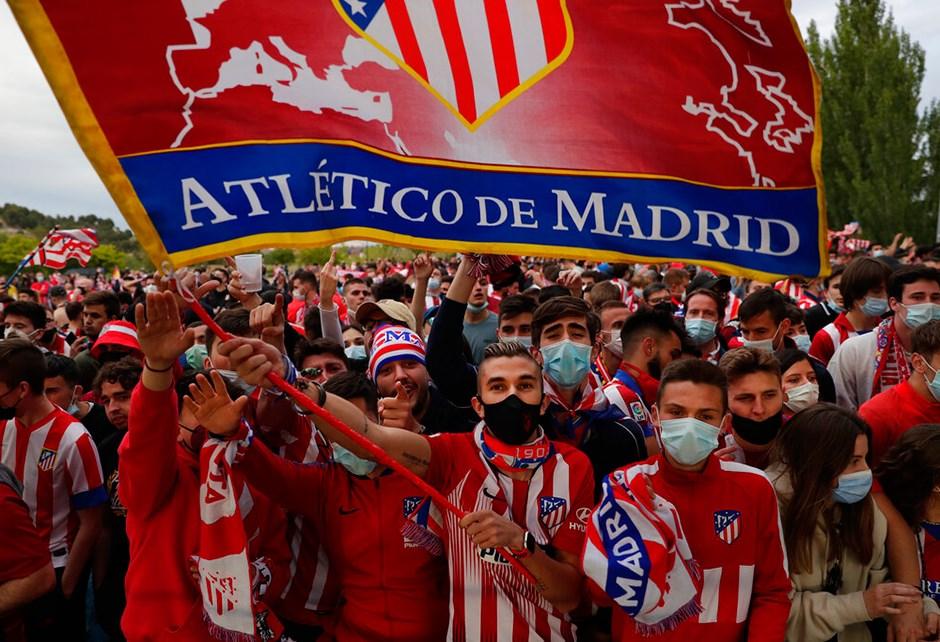 Atletico Madrid taraftarı genç kutlamalarda hayatını kaybetti