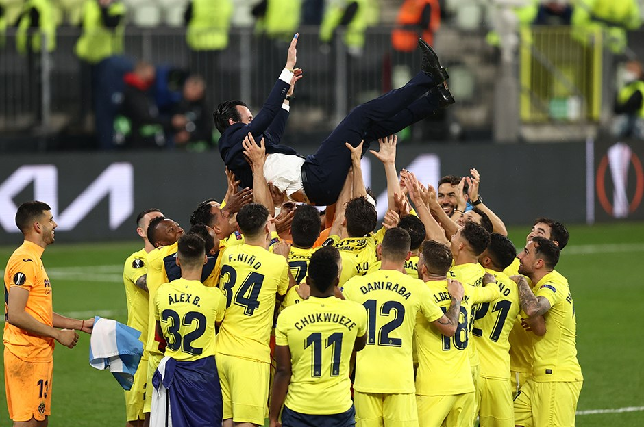 Emery ve Villarreal tarihe geçti