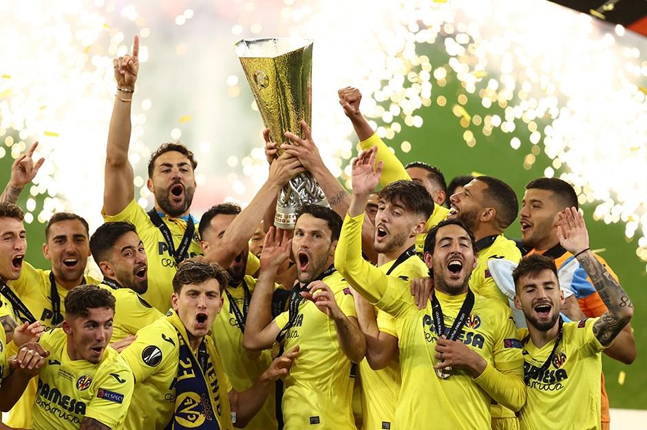 Villarreal:1 - Manchester United:1   UEFA Avrupa Ligi kupası penaltılarla Villarreal'in