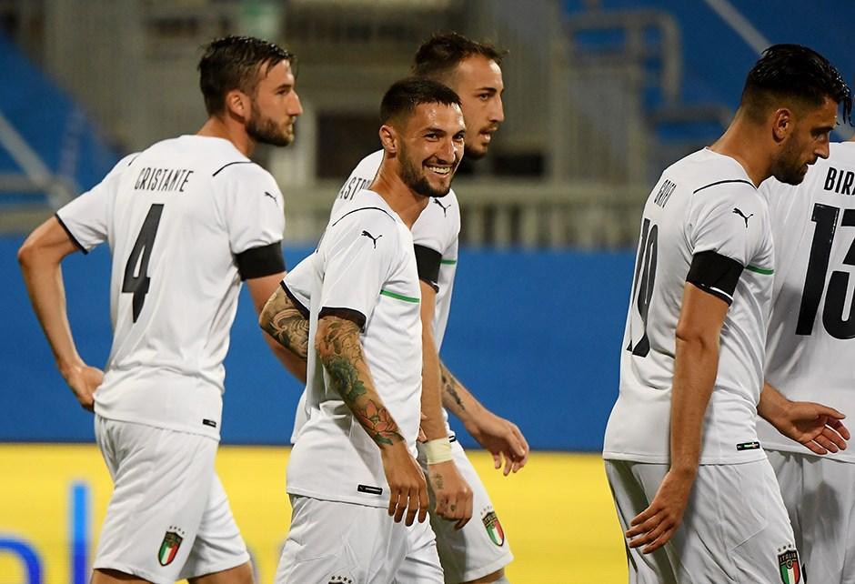 Türkiye'nin rakibi İtalya'dan 7 gollü prova