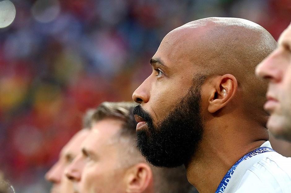Thierry Henry, Belçika Milli Takımı'na geri döndü