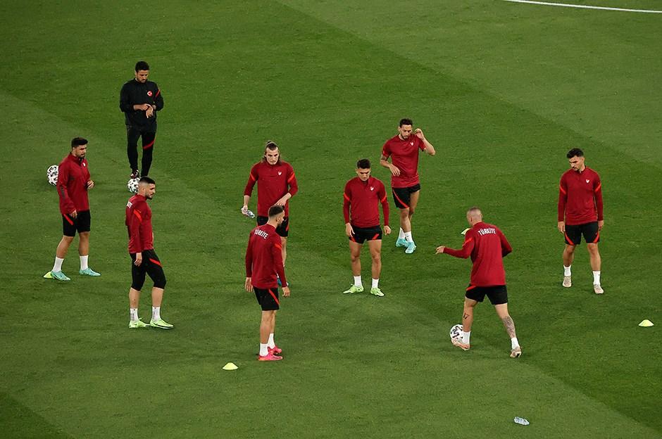 Milliler, İtalya maçı hazırlıklarını tamamladı