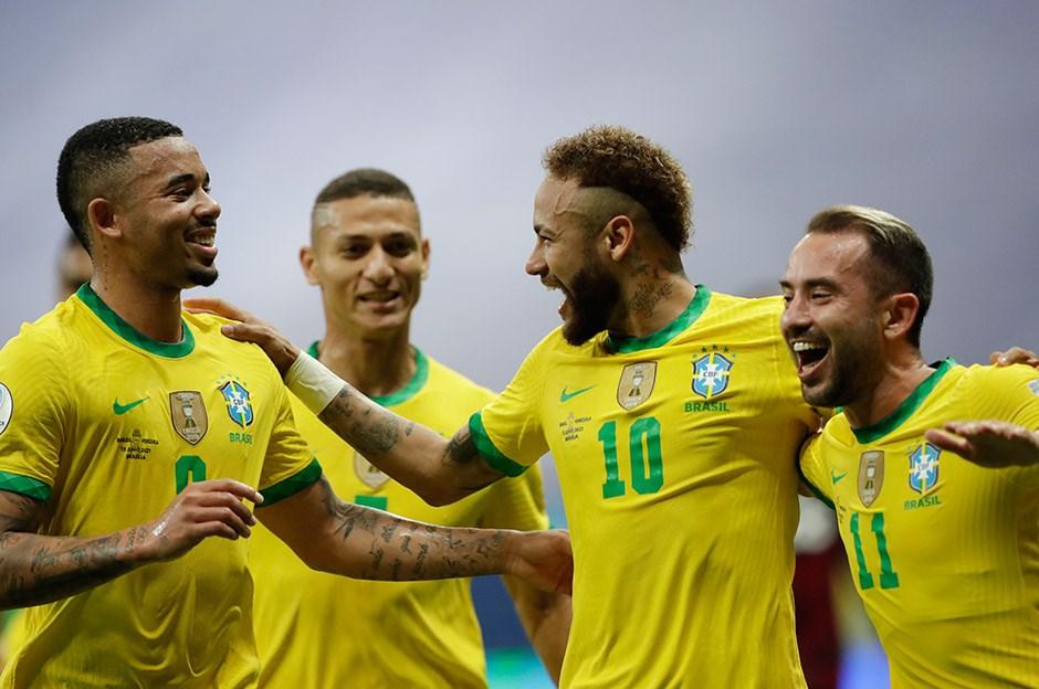 Brezilya 3-0 Venezuela