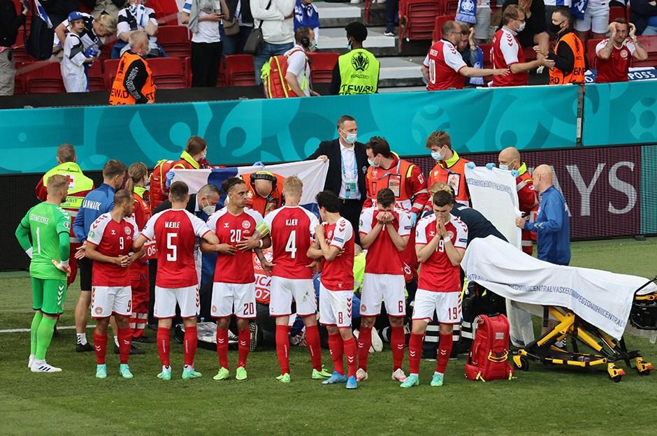 UEFA, Danimarka'yı tehdit etmiş