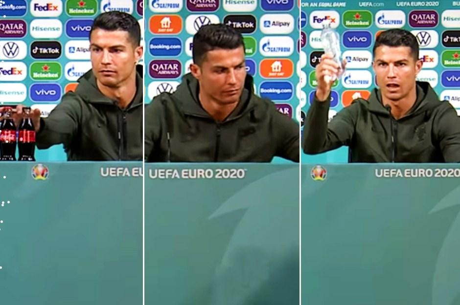 Ronaldo'nun Coca Cola tepkisinin maliyeti 4 milyar Dolar