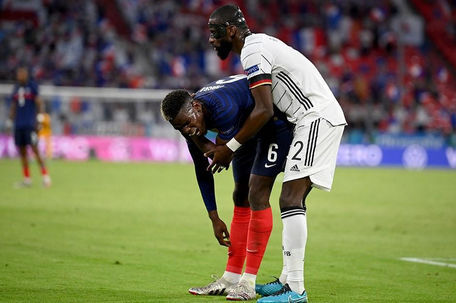 Paul Pogba kendisini ısıran Antonio Rüdiger'i affetti