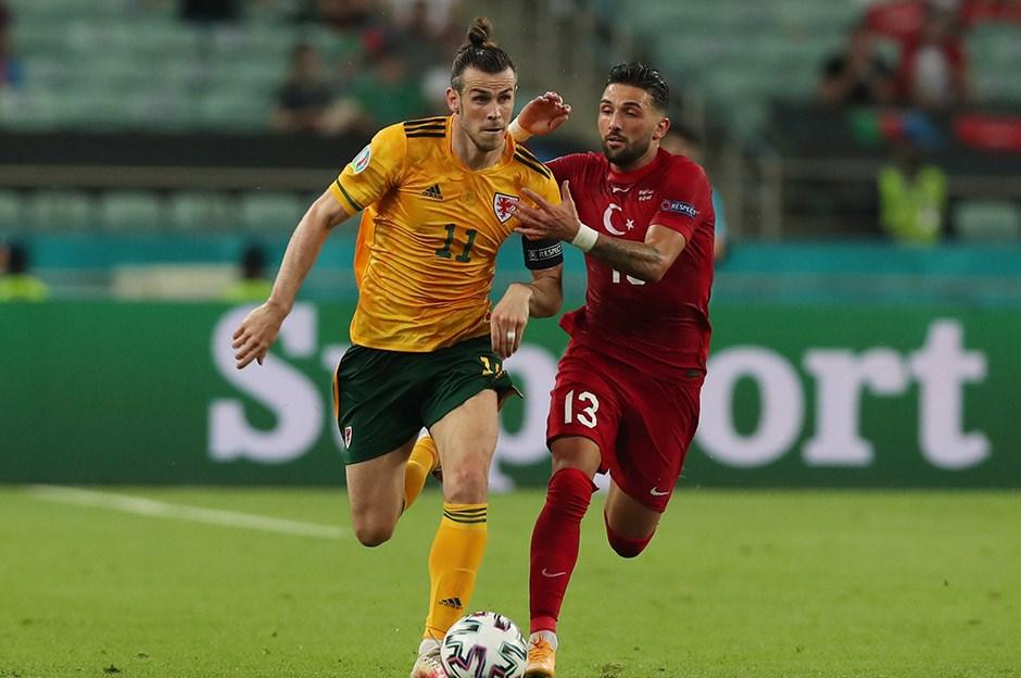 Gareth Bale, Türkiye maçında turnuva rekoru kırdı