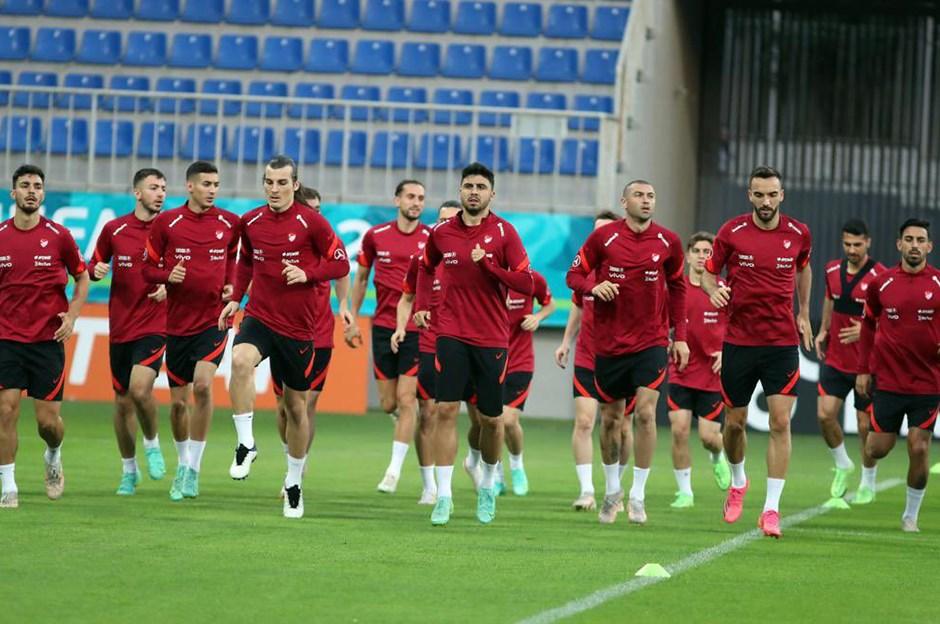Milli Takım, İsviçre maçı hazırlıklarını sürdürdü
