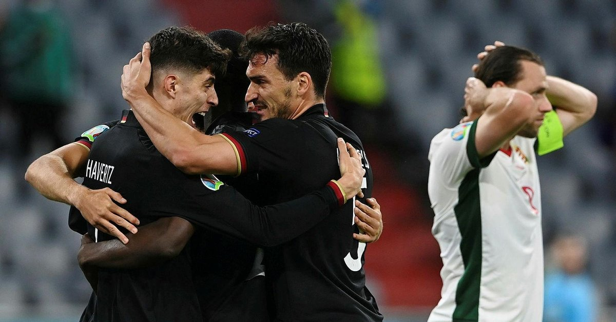 Almanya - Macaristan maç sonucu: 2-2