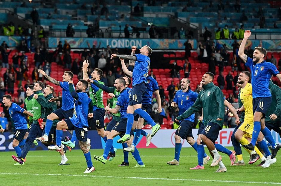 EURO 2020'de ilk finalist İtalya